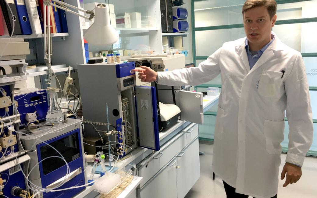 In his doctoral dissertation on analytical chemistry, MSc, MSc (Tech) Evgen Multia has developed new methods for studying biomacromolecules in blood plasma.